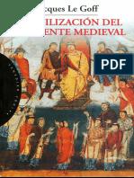 Algo de Le Goff Civilización de Oriente Medieval