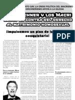 Volante Matrimonio Gay