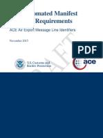 110315 CAMIR-AIR Export Message Line Identifiers