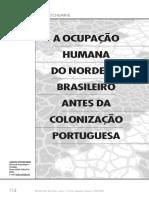 A Ocupação Humana do nordeste Brasileiro antes da Colonização portuguesa.pdf