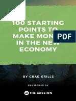 100 Business Ideas New Economy