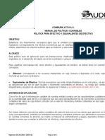 DA12 Manual de Politicas Contables Efectivo y Equiv