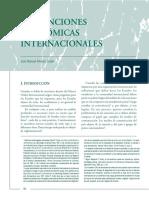 sanciones economicas internacionales