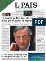 Tapas de diarios de España, hablan de la sucesión