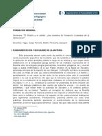 Programa Seminario Propedéutico I - UNIPE (2019)