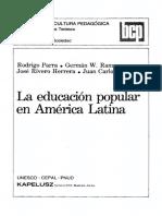 educación popular en América Latina.pdf