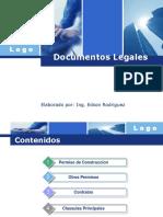 Documentos y Responsabilidad Del Contratista