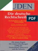 Duden - Die deutsche Rechtschreibung (21. Auflage)