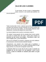 FÁBULA DE LOS 3 LEONES.pdf