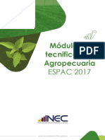 Módulo de Tecnificacion Agropecuaria
