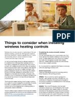 Installing Wireless Heating Controls(1)