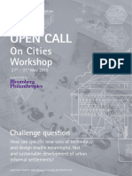 On Cities Workshop 2019 Application Form 1