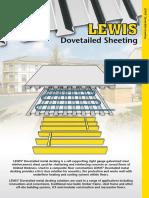 dowtail sheeting