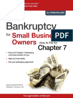 Stephen Elias, Bethany K. Laurence - Bankruptcy for Small Business Owners_ How to File for Chapter 7-Nolo (2010)