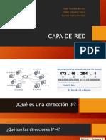 Modelo OSI, capa de red