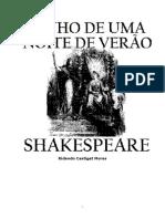 Shakespeare Sonhos de Uma Noite de Verao