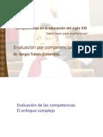 Evaluacion en El Enfoque Por Competencias - Sergio Tobon