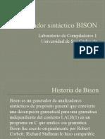 Analizador sintáctico BISON