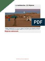 Mujeres Del Frente Polisario de Liberacion de Sahara Occidental