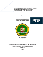 Faktor-Faktor Pertimbangan Konsumen Dalam Pengambilan Keputusan Berbelanja Di Toko POGO Jl