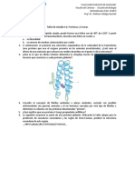 Taller de Estudio. Proteína y Enzimas