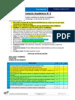 Formato PA N° 2 Comunicación