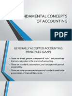 Fundamental Concepts of Accounting