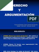 Derecho y Argumentación (Calviño)