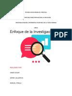 Investigacion Omar Cesar, Kerby Calderon, Manuel Pirela.