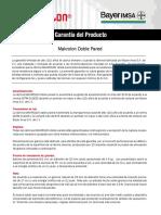 Interwall SAC - Carta Garantía Makrolon Bayer - Policarbonatos.pdf