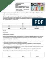 Determinación Potenciométrica Del PH de Disoluciones 0.1 N de Los Ácidos Clorhídrico, Oxálico, Cítrico y de Las Mezclas Clorhídrico- Oxálico, Clorhídrico-cítrico.