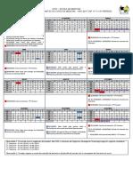 Calendário internatos-2019