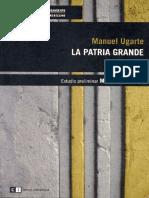 Manuel Ugarte - La Patria Grande.pdf