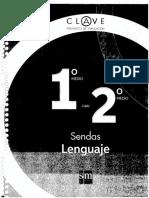 Sendas Lenguaje 1° 2° Medio - CLAVE PROYECTO DE EVALUACION.pdf