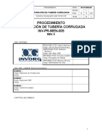 PR MEM 005_0 Perforacion de Tuberia Corrugada