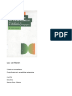 EL Tacto en la Enseñanza - MAX VAN MANEN.pdf
