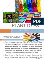 Plant Dyes