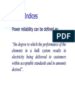 Reliability Indices