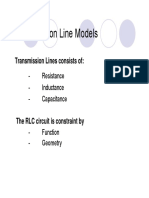 TX Line Models