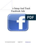 How to Setup and Track Facebook Ads