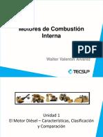 Sesión 01 - Motor Diésel (Carácterística, Clasificación y Comparación).pdf