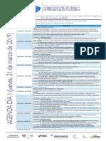 Agenda Simposio Gobernanza Del Agua 21-22 de Marzo