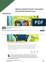 Www Lanacion Com Ar Sociedad Los Peligrosos Experimentos Fin