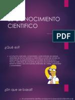 Adela Morales El Conocimiento Cientifico 2.0