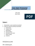 2.Penguasaan Penyusunan Laporan Lit Kuantitatif.pptx