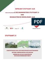 Das Bahnprojekt Stuttgart -Ulm