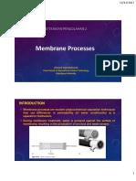 2. Membrane Processes, PDF
