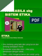 Pancasila Sbg Sistem Etika