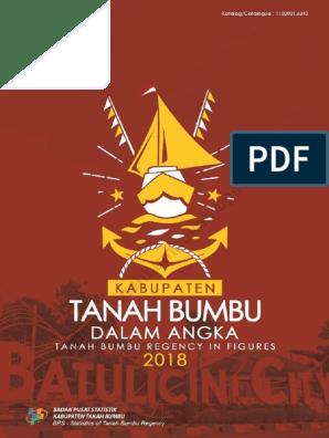 Kabupaten Tanah Bumbu Dalam Angka 2018 Pdf