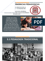 3.1 y 3.2 Tendencias Pedagogicas